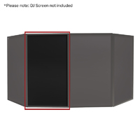 Equinox DJ Screen Black Replacement Lycra Cloth (Single)