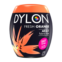 Dylon Pod Machine Dye Fresh Orange 55 350G