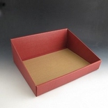 Basket9. Burgandy 400 x 320 x 150mm. ( Pack of 10)