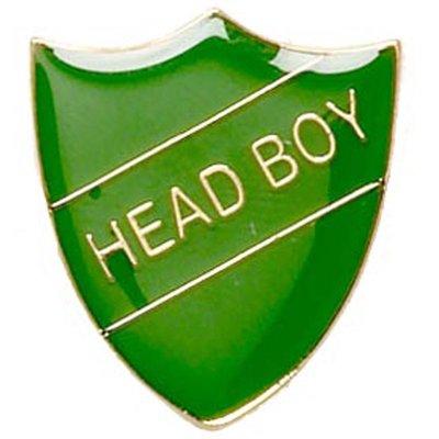Head Boy - Badge (Green)