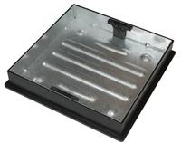 MANHOLE 540X80MM RD/SQ PAVOIR STEEL DEEP