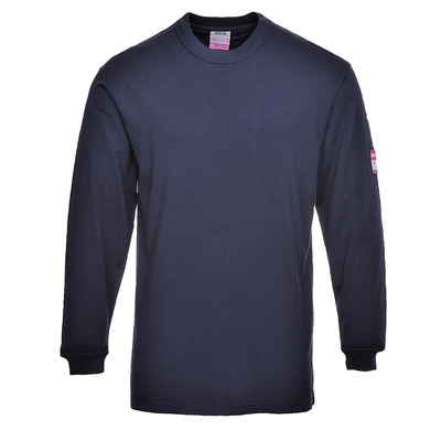 Portwest Flame Retardant Antistatic T-Shirt Navy