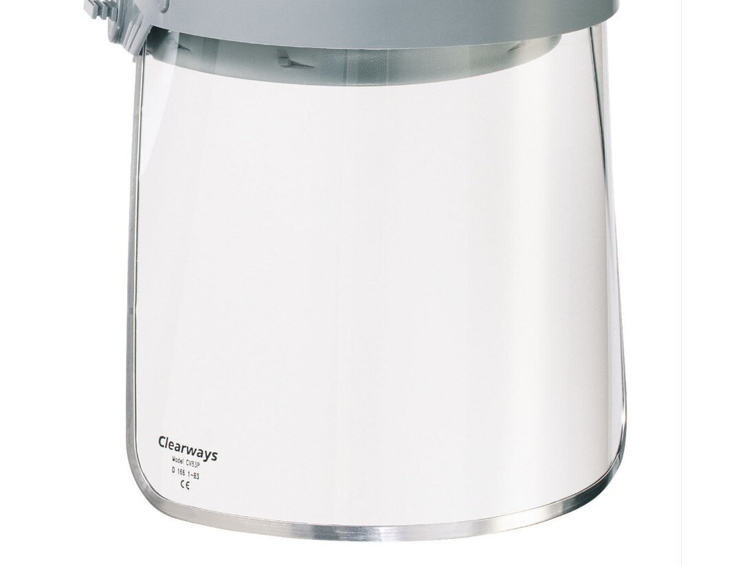 HONEYWELL Clear Polycarbonate Screen (200 mm)