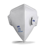 Uvex silv-Air c FFP1, Flat Fold Dust Mask