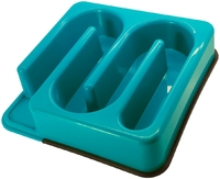 Slim-O-Matic Plastic Wavy Slow Feeder x 1