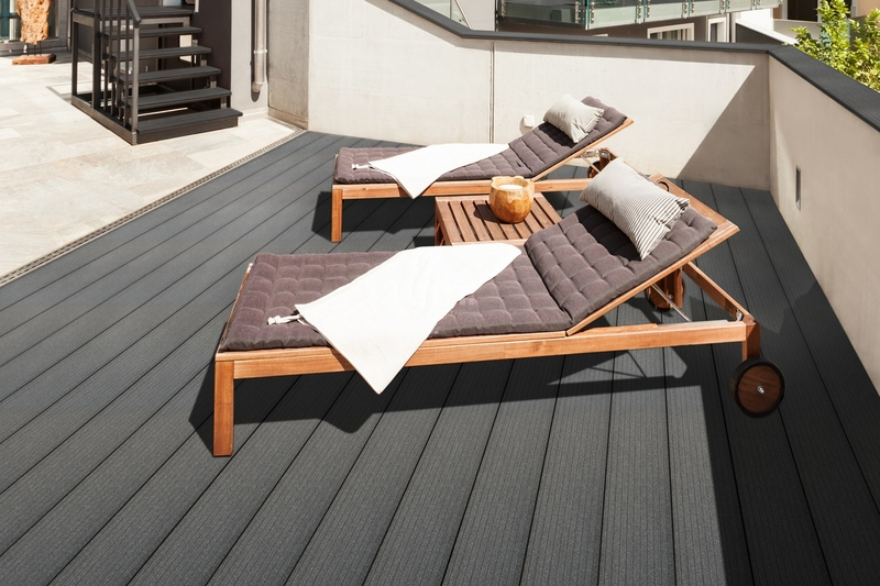 Composite Decking Grooved Dark Brown, 135 x 25mm 3 6mtr - from €50 70 M2