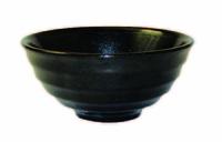 Metallic Black Noodle Bowl 14Oz Carton of 12