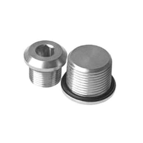 Nickel Plated Brass Stopping Plug ATEX EExd
