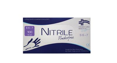 Nitrile Gloves - Powderfree