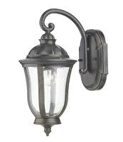 Johnson Wall Bracket Lantern IP44, Black Gold  | LV1802.0163