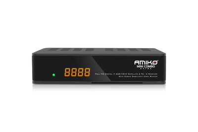 Amiko Mini Combo Extra- Full HD Terrestrial & Satellite Receiver with Conax Card Reader & Media Player