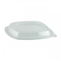 Crystal Classic Square Lid 8""