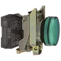 Telemecanique 120V Green Round LED Pilot Light
