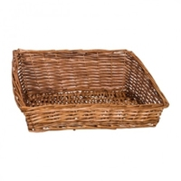 BASKET RECT BROWN 44X33X17.5/7.5CM