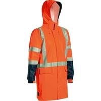 Bisley Hi Vis TTMC-W Stretch PU Rain Jacket 20,000mm