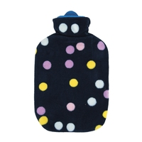 Cuddly Plush Covered 2L Hot Water Bottle Night Sky