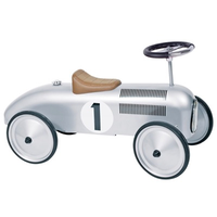 Children's Ride-on Silver Car