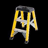 3 Step Single-Sided Fibreglass Step Ladder
