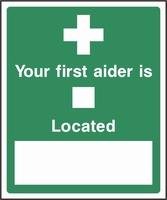 First Aid Sign FAID0006-0553