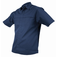 TWZ Plain Short Sleeve Polycotton Shirt 170gsm