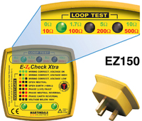 Martindale EZ150 Eze Check Xtra Earth Loop Impedance Indicator