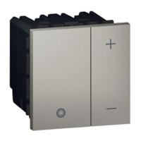 Arteor Eco Universal Dimmer Square - Magnesium  | LV0501.0086