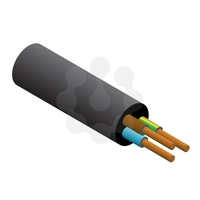3x2.5mm PVC Flex Black