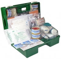 1-25 Industrial First Aid Kit Wall Mount