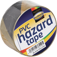 SAFTBY2 YELL/BLK S/ADHESIVE HAZARD TAPE 50X33M