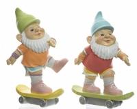 Kaemingk Skateboard Gnomes