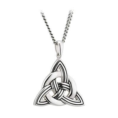 S/S LARGE HEAVY CELTIC KNOT PENDANT