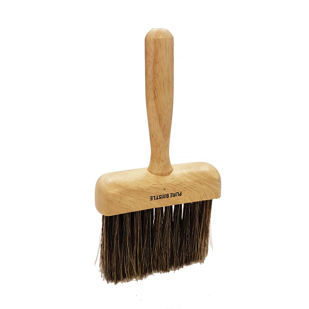 "4"" Grey Bristle Jamb Duster Paint Brush (WT202)"