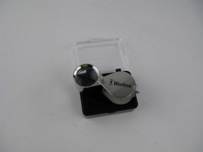 Triplet Chrome Hand Lens 20 x 21