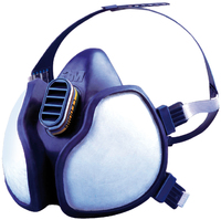 3M 4000 Series Maintenance Free Half Mask Respirators