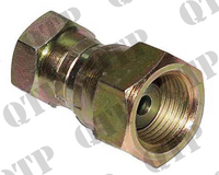 "Adaptor 1/4"" Female x 3/8"" Female BSP Swivel"