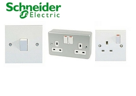 schneider switched sockets
