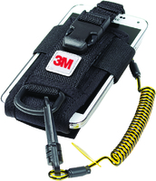 Python Adjustable Radio Holster, Clip2Loop Coil Tether and Micro D-ring