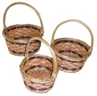 Adele Willow Basket Set of Three