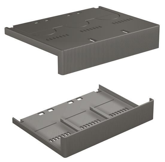 1SDA051424R1 ABB SACE Tmax LTC T2 4P Terminals Covers Low (pair)