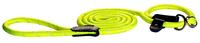 Rogz Rope Dayglo Medium Long Moxon Slip Lead 1.8m x 1
