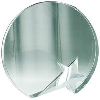 14cm Crystal Award with Star (Satin Box)