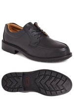 CITY KNIGHTS PLAIN FRONT TIE SAFETY SHOE