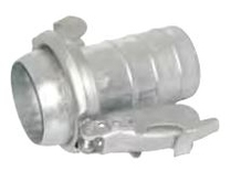 Bauer Type Male Coupling with Hose End