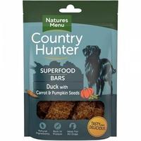 Natures:Menu Country Hunter Superfood Bar Duck, Carrot & Pumpkin Seeds 100g x 7