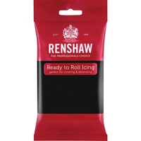 RENSHAW READY TO ROLL ICING JET BLACK (2 x 2.5 Kgs)