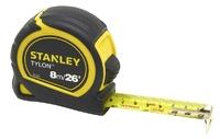 Stanley 8m(26ft) Tylon Bi-Material Short Tape