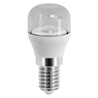 BELL 2 WATT (15 WATT) SES E14  CLEAR PYGMY LAMP 15000 HOUR WARM WHITE 2700K 100 LUMEN