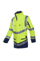 Sioen Windsor Hi-vis rain jacket