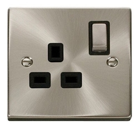 1 Gang DP 'Ingot' Switched Socket Outlet