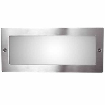 Ansell Recessed Bricklight Stainless Steel | LV1002.0015